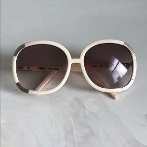Chloe Ivory Myrte sunglasses